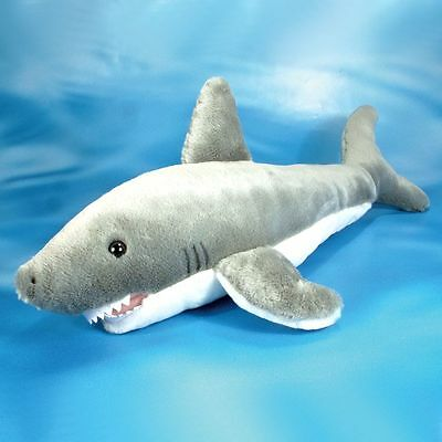 56cm Large Shark Soft Toy - Cuddly Plush Toy Animal - Suitable for all ages (0+)