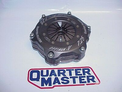"QuarterMaster 7-1/4"" Optimum 3 Disc with 29 Spline Clutch Discs Fits Late Chevy"