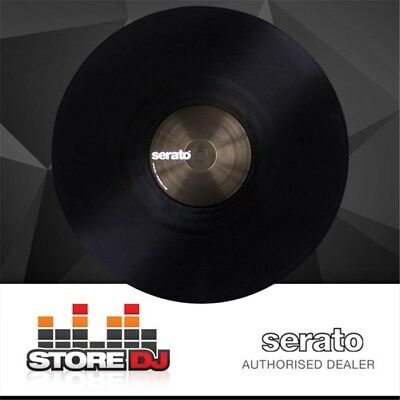 Serato  Performance Vinyl: PAIR Plain Black