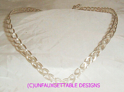 Silver Plated Metal Pointed Celtic/elven Circlet - Will Fit Man Or Woman Sca