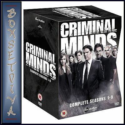 CRIMINAL MINDS - COMPLETE SEASONS 1 2 3 4 5 6 7 8 & 9  **BRAND NEW DVD BOXSET***