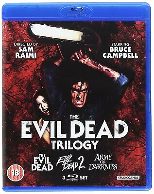 Evil Dead Trilogy (Blu-ray)
