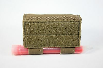 AAT Coyote Brown Counterweight Pouch 2 x 4 Cyalume Battery CR123A USA Made