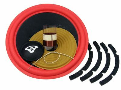 "Recone Kit for Cerwin Vega AT-10 ATW-10 10"" Woofer 4 Ohms Premium SS Audio Parts"