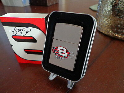 Dale Earnhardt Jr #8 Big E Nascar Zippo Lighter Mint In Box