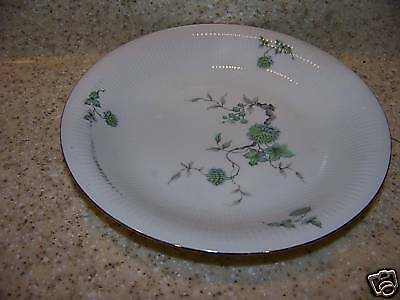 """4 Mitterteich Germany Green Ming Soup Bowls 8 1/8"""""""