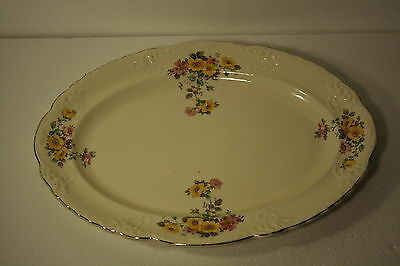 Antique Serving Platter Taylor Smith & Taylor  5 34 8 Made in U.S.A. by TST Co