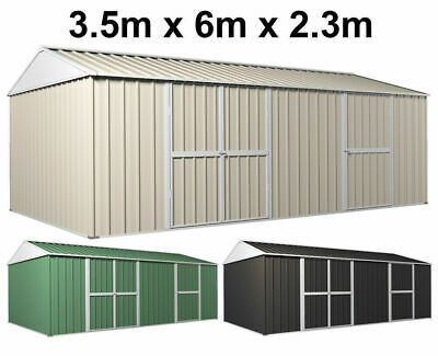 Garden Shed, 3.5 x 6.0m, Colour WorkShop, Garage, Storage, Tool, Excel Shed