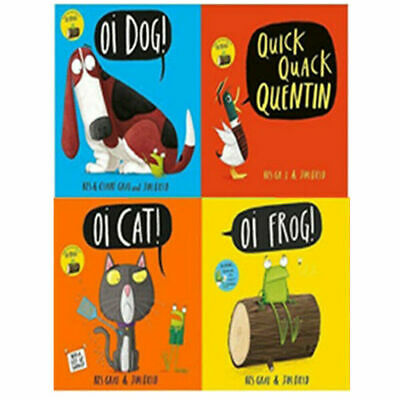 Oi Frog and Friends Series Kes Gray 5 Books Collection Set Oi Frog!,Oi Cat! NEW