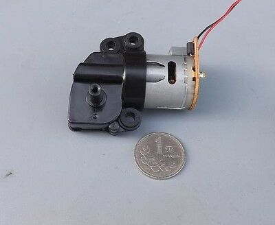 DC12V 130rpm Worm DC Gear Motor 360 Carbon Brush small motor for DIY