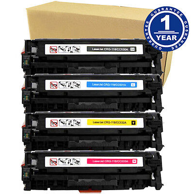 4PK Canon 118 Toner Cartridge For Color ImageClass MF8350cdn MF8380cdw MF8580cdw