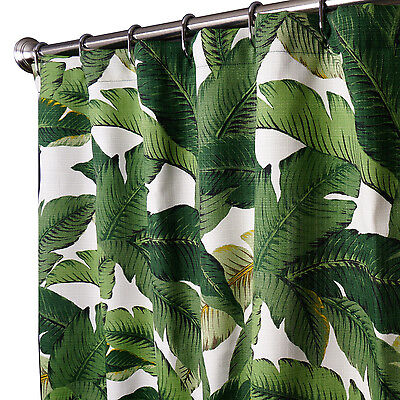 Shower Curtains Fabric Unique Shower Curtain Cool Green Palms 72 In