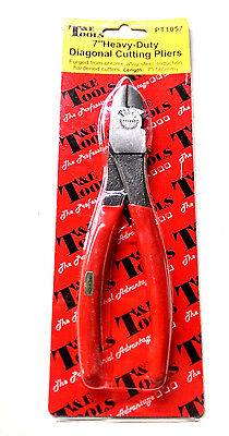 "T&E Products: No.PT1057 7"" Diagonal Cutting Pliers"
