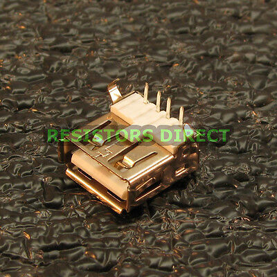 2x USB Type A Female Right Angle PCB Port Connector Socket PCB Replacement U82