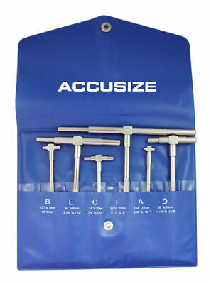 "5/16"" - 6"", 6 Pcs Telescoping Gage Set, #EG02-5011"