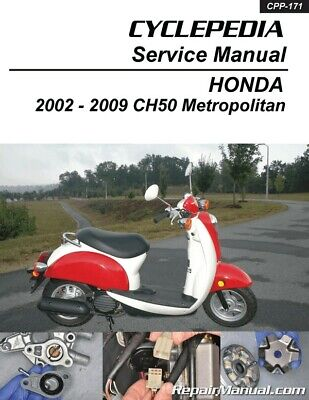 HONDA CN250 HELIX Scooter Printed Service Manual by ... on