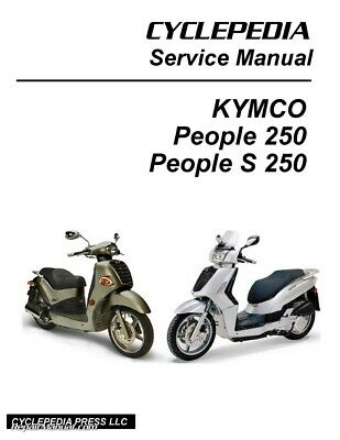 kymco people 250 people s 250 scooter full service repair manual 2006 2012