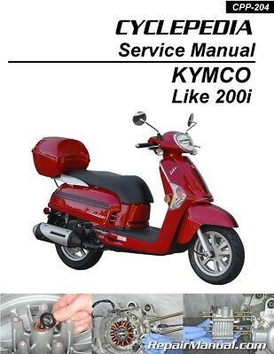 HONDA CN250 HELIX Scooter Printed Service Manual by Cyclepedia ... on