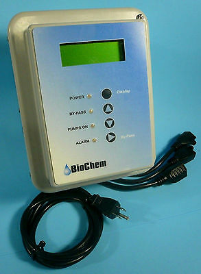 3-Channel Chemical Dispense Injection Pump Controller / Flow Monitor BioChem New