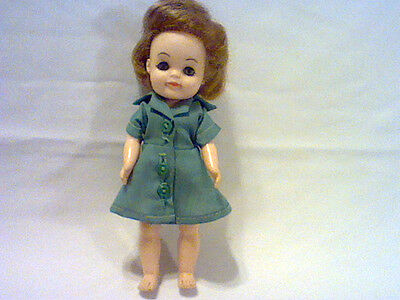 """VINTAGE EFFANBEE 1965 GIRL SCOUT DOLL 7 1/2"""" TALL"""