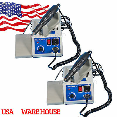 2 x Dental 35K rpm Electric Marathon Polishing Polisher Micro Motor N3 Handpiece