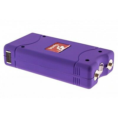 Cheetah Stun Gun 10 Mil Volts with Led Light & Rechargeable - Purple