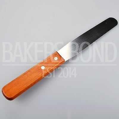Metal Spatula with Wooden Handle (27cm) Kitchen Cookware Baking Tool Utensil