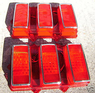 1969 Ford Mustang Pair of LED Tail Lights 108 LED,s