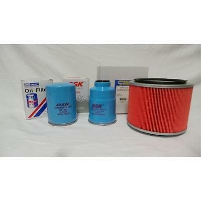 NISSAN PATROL GU 2.8 RD28QT TURBO DIESEL oil air fuel FILTER SERVICE KIT 98-2001