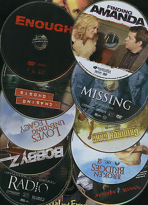 AWESOME Lot of 12 MOVIE DVDs RADIO BOBBY Z GHOSTS ENOUGH AMANDA MISSING ANGEL++