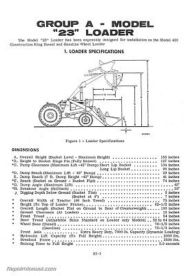 OLIVER OC-3 CRAWLER Tractor Instruction Manual - $35.90 | PicClick on