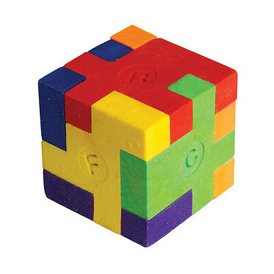 Puzzle Cube Eraser X 1 - Great Party Bag Item & Great Price Too + Free P&p!