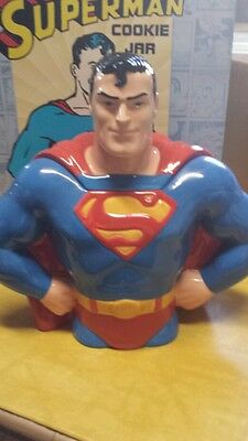 Superman Cookie Jar - Perfect Condition