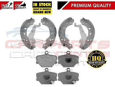 FOR SMART FORTWO ROADSTER FRONT BRAKE PADS and REAR BRAKE SHOES SET BRAND NEW