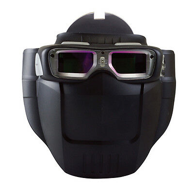 Servore Arc-513 #. BROWN Auto Shade Welding Goggles with Protective Face Shield