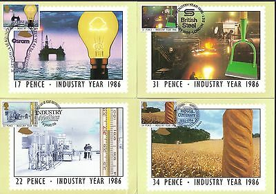 GB - UK PHQ Cards 89 1986 Industry Year