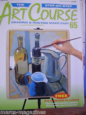 DeAGOSTINI ART COURSE MAGAZINE # 65 DRAWING & PAINTING MADE EASY STEP BY STEP