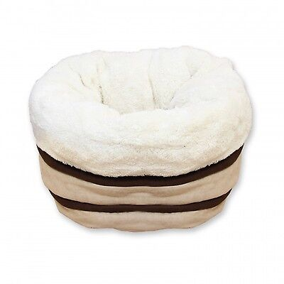 All For Paws AFP Honey Comb Honeycomb Cat Kitten Bed Beige Brown Cream