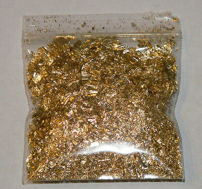 1 Gram Gold Leaf Flake - Huge Beautiful Flakes - The Best Anywhere