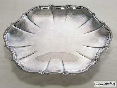 Wm. Rogers Silver Plated Serving Tray (#666)