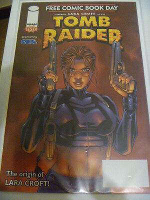 TOMB RAIDER : FREE COMIC BOOK DAY.  1st PRINTING.  N.MINT. HIGH GRADE