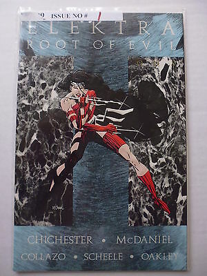 Elektra : Root Of Evil Book 1.  1995. Marvel Comics. Card Embossed Cover