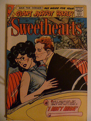 Sweethearts. Vol.2 Number # 49. Charlton Comics. July 1959. High Grade Silverage