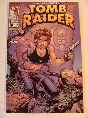 Tomb Raider Issue #  8.  Oct.2000.  Image/top Cow.  Nm