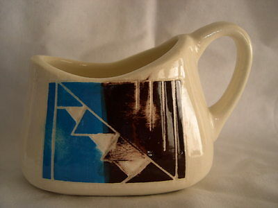 RARE EXCEPTIONAL NATIVE AMERICAN SIOUX POTTERY CREAMER BY RAMONA S.P.R.C.S.D.
