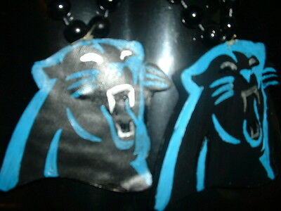 NFL Clay Pendents Hand Made (On Mardi Gras Necklaces)