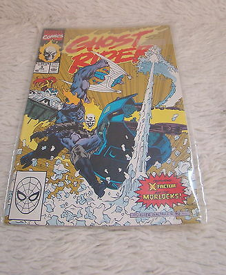 Marvel Comics Ghost Rider #9 Jan 1991 with Protective Sleeve, Collectible