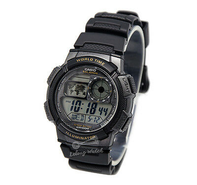-Casio AE1000W-1A Digital Watch Brand New & 100% Authentic