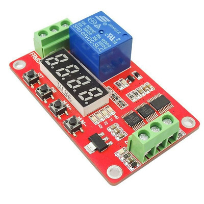 5V Module PLC Home Automation Delay Multifunction Self-lock Relay Cycle Timer