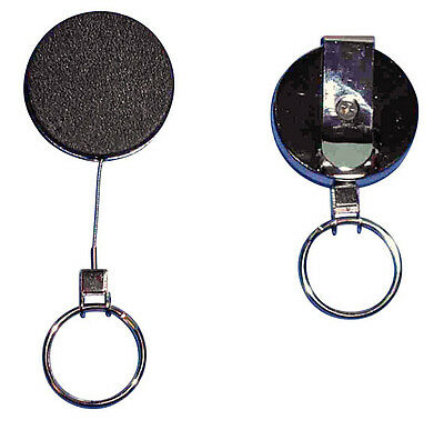 1 metal Yoyo black with key ring and Steel cord